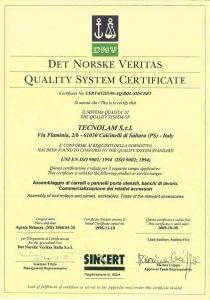 l'entreprise qui a obtenu le label ISO 9002