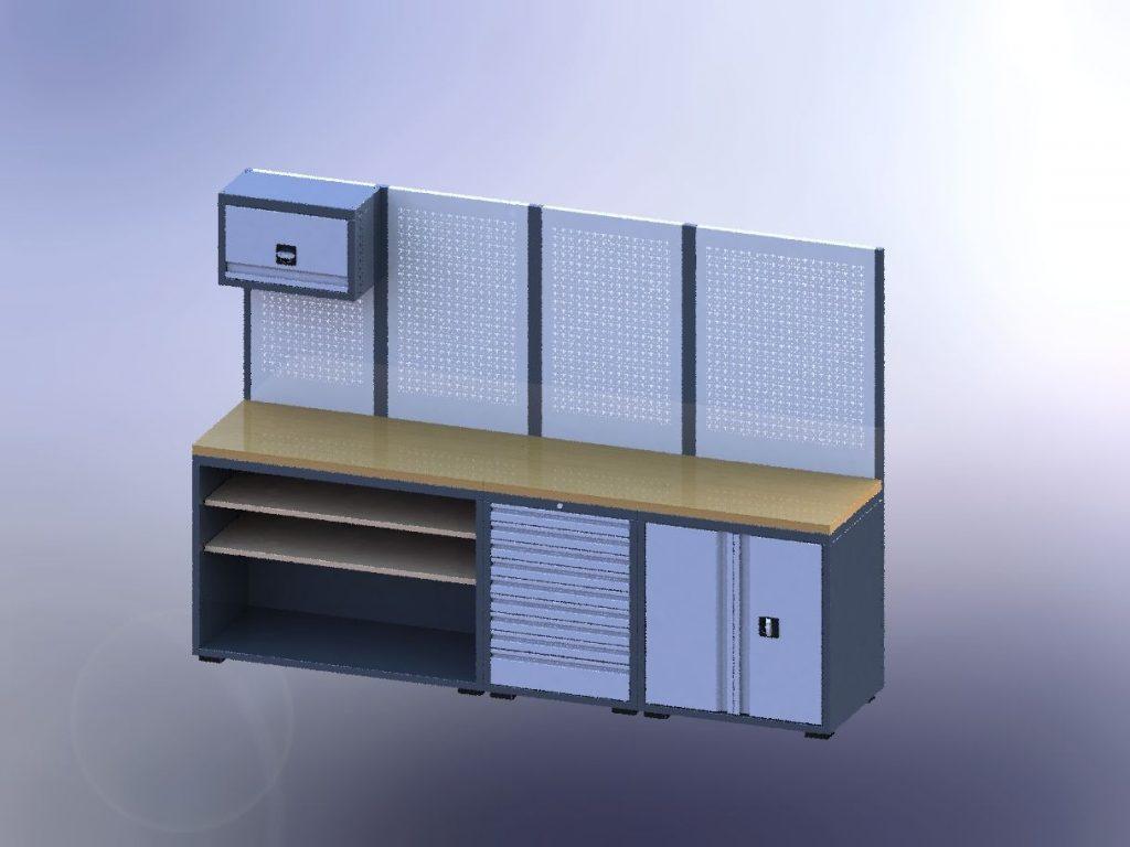 Mobileier d'atelier tecnolam