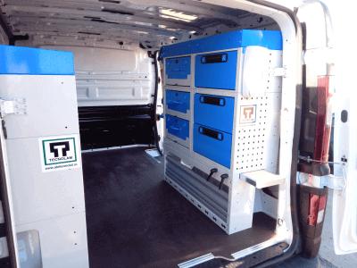 aménagement fourgonettes Renault Trafic