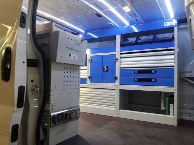 atelier mobile aménagement van
